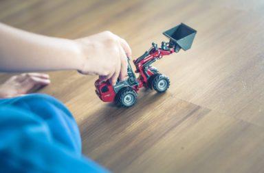 camion constructeur jouet